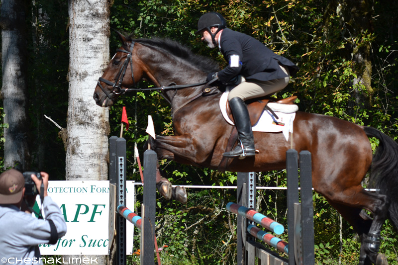 Kevin Baumgardner show jumping