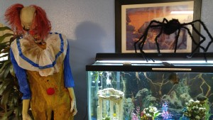 Creepy clown in Utah