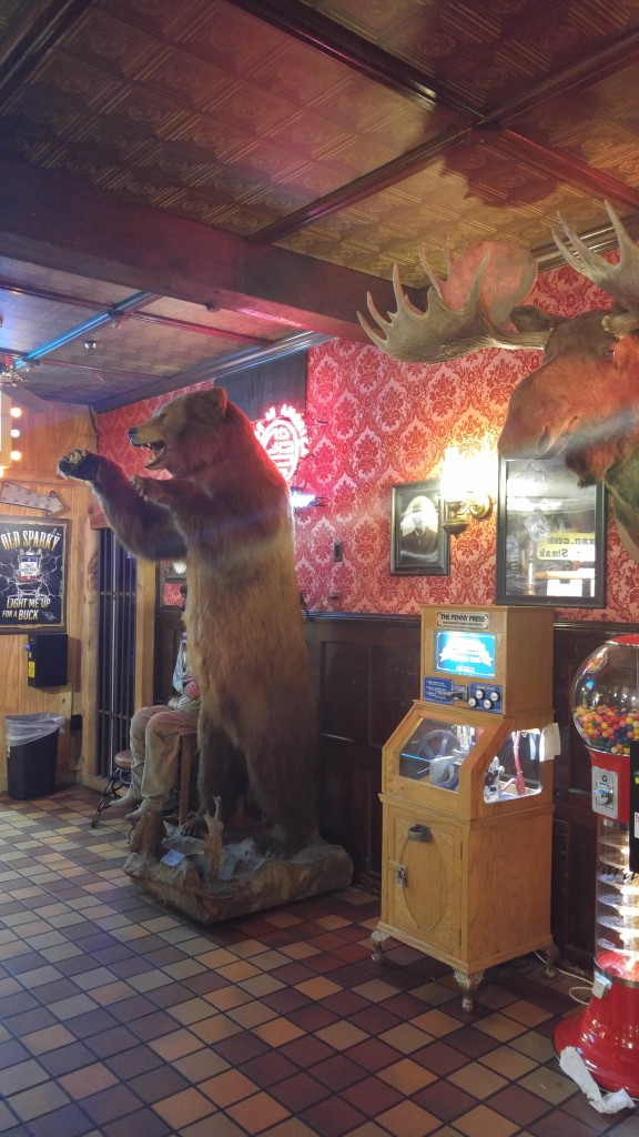 Inside the Big Texan in Amarillo
