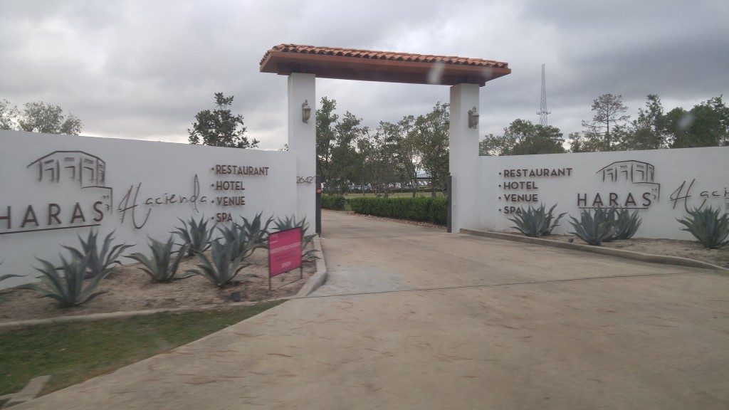 Entrance to Haras Hacienda
