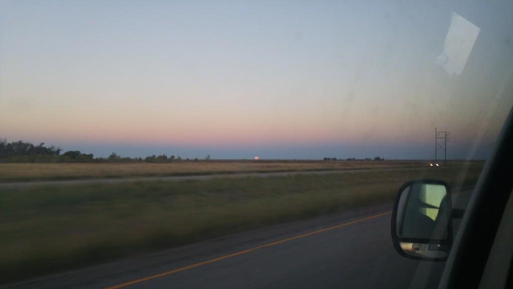 Landscape in Texas