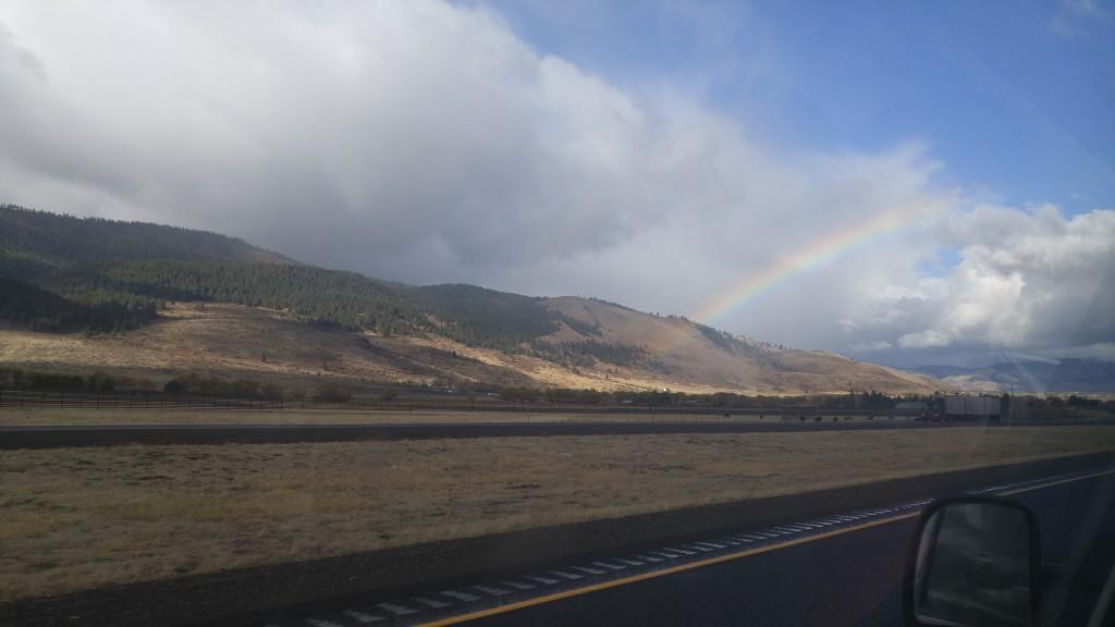 Rainbow over Oregon